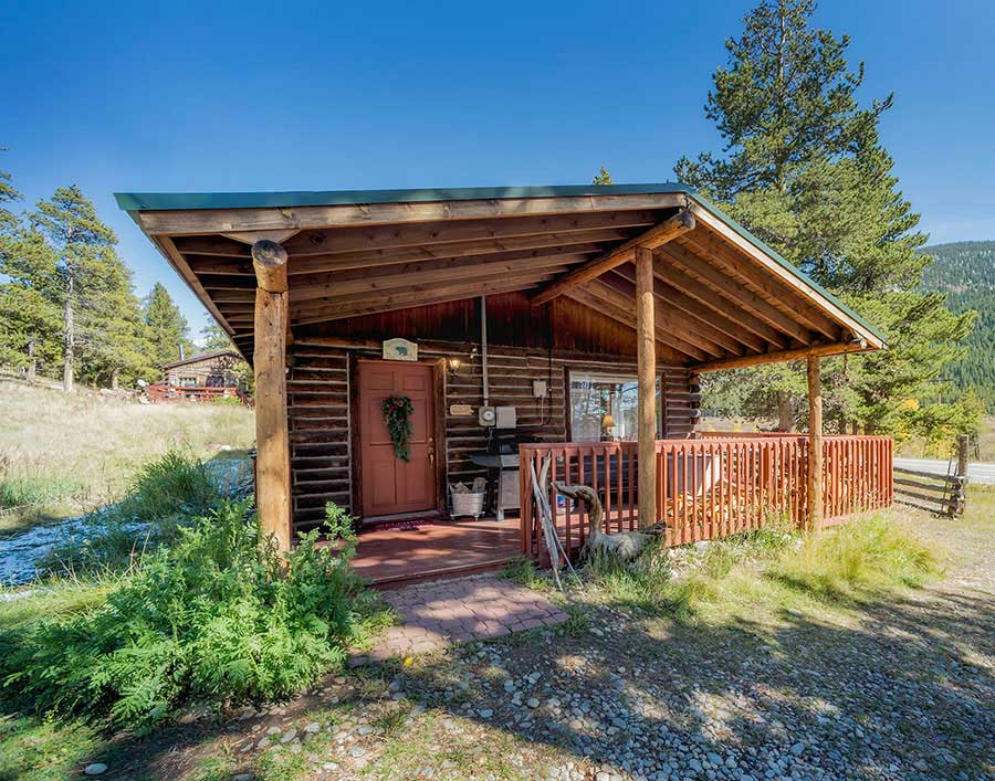 Tashi's cabin exterior